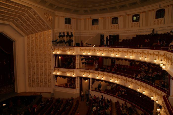 Схема зала театра оперы и балета минск