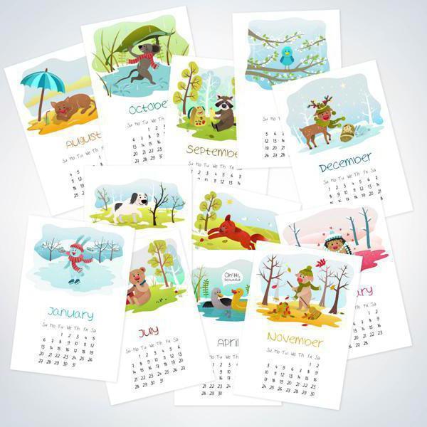 Что такое календарь для детей