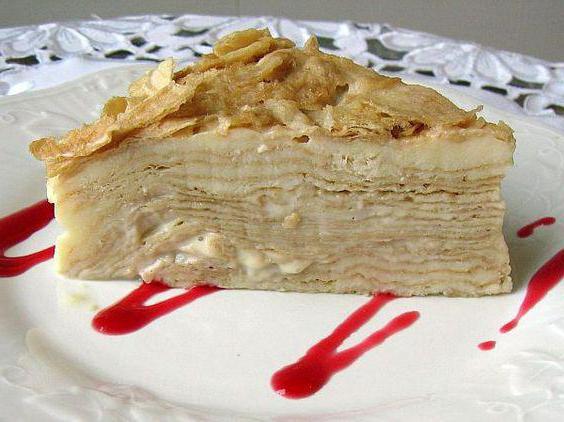 Торт Наполеон: простой классический пошаговый рецепт ...