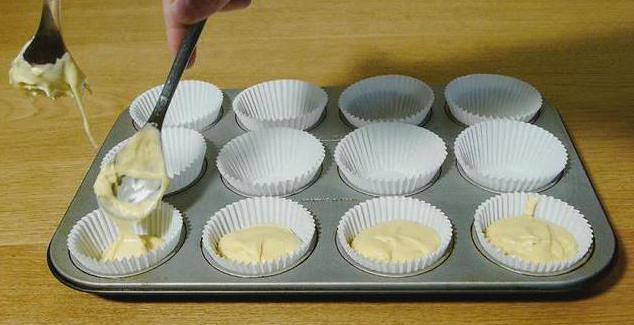 Творожные кексики с изюмом, пошаговый рецепт с фото