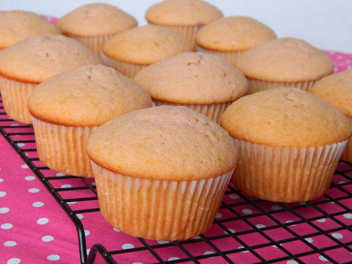 Быстрые творожные кексы в силиконовых формочках рецепты