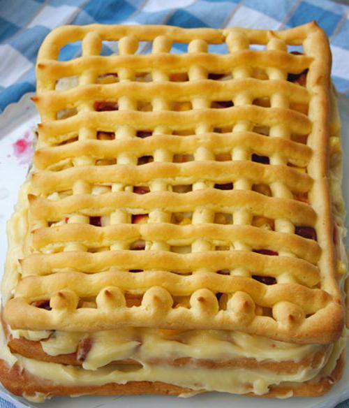 Тропиканка - торт с заварным тестом: пошаговый рецепт, способ приготовления и отзывы
