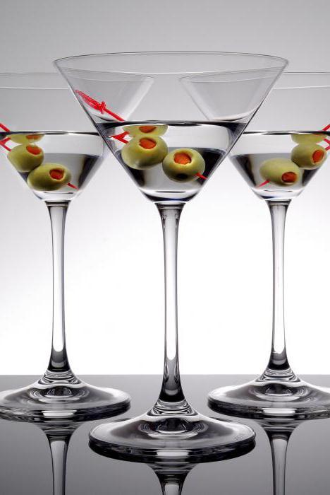 Рецепт коктейля из мартини