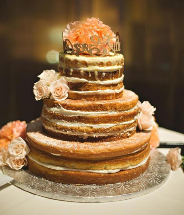 торт в стиле рустик как сделать