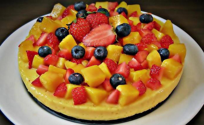 Низкокалорийные торты: рецепты, фото