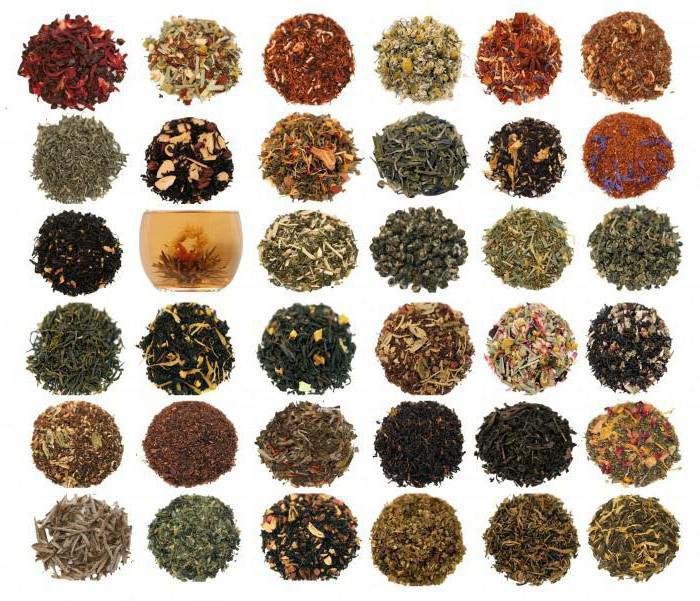 китайский чай виды