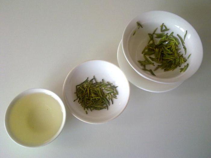 чай китайский виды названия