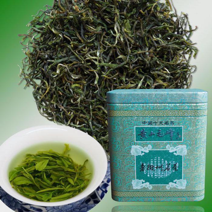 описание и виды китайских чаев