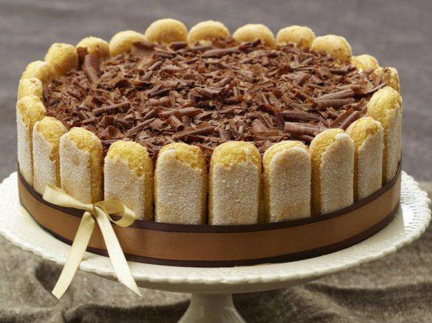 Торт тирамису рецепт в домашних условиях без маскарпоне