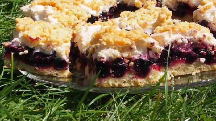 рецепты пирогов со смородиной для мультиварки