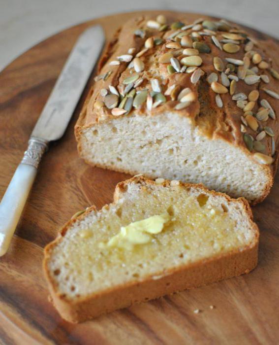 хлеб без глютена рецепты
