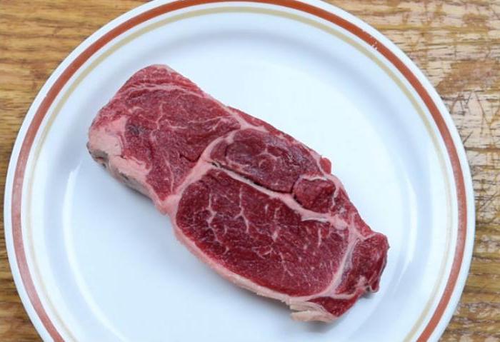 стейк из говядины дома