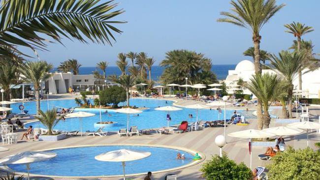 тунис отель эль муради джерба