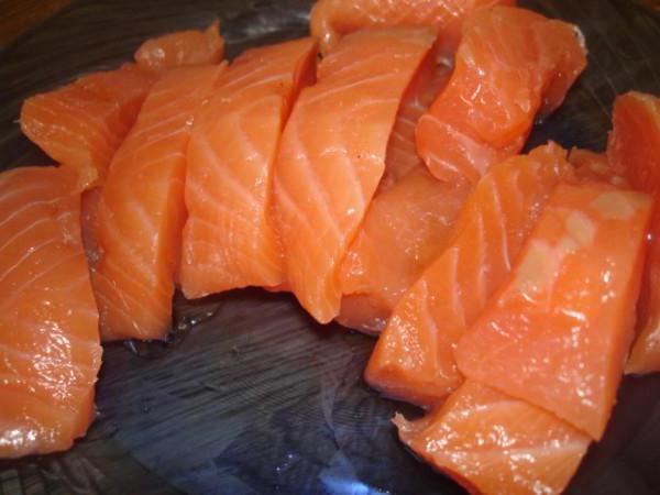 красная рыба соленая рецепт