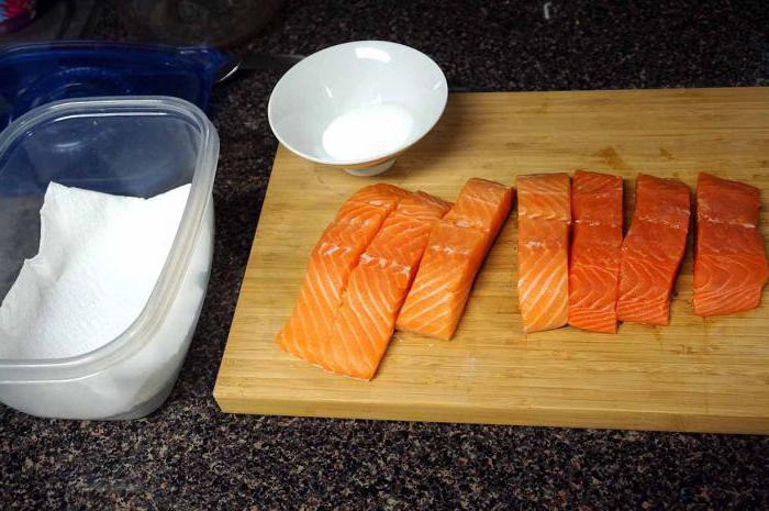 рецепт горбуши соленой под семгу