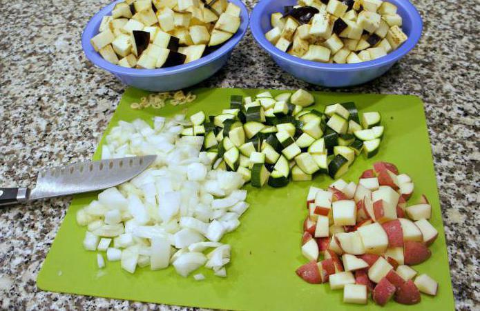 овощное рагу рецепты в духовке с мясом и