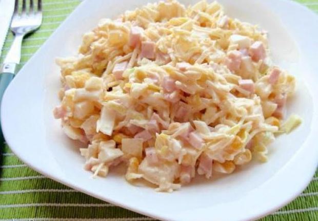 Вкусные салаты быстро и просто
