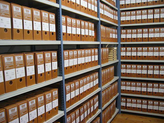 Инструкция по архивному делопроизводству