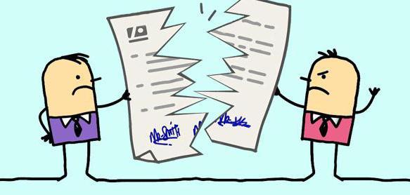 порядок расторжения договора аренды в одностороннем порядке