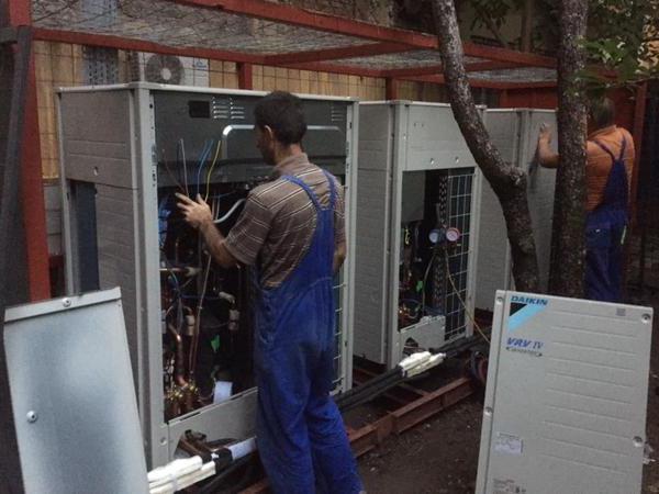 техническое обслуживание и ремонт систем вентиляции