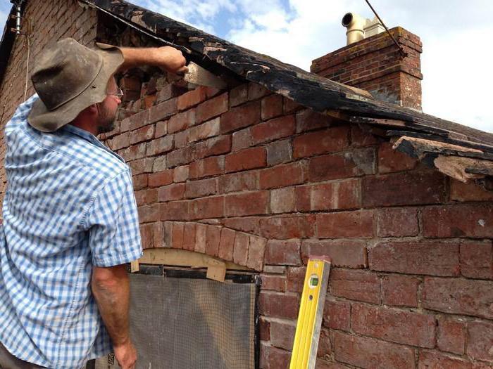 реставрация кирпичной кладки наружных стен