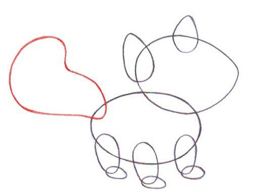 Как нарисовать животное поэтапно