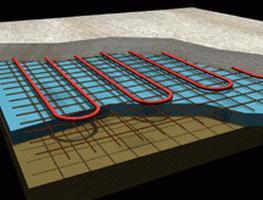 водяной теплый пол схема монтажа