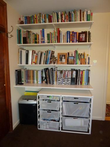 как сделать полку для книг