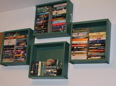 полки для книг размеры