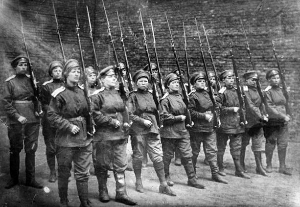 женский батальон смерти в первой мировой войне