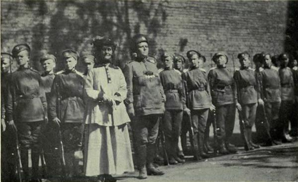 женский батальон смерти в первой мировой войне военные формирования