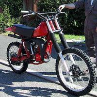 Самодельный кроссовый мотоцикл
