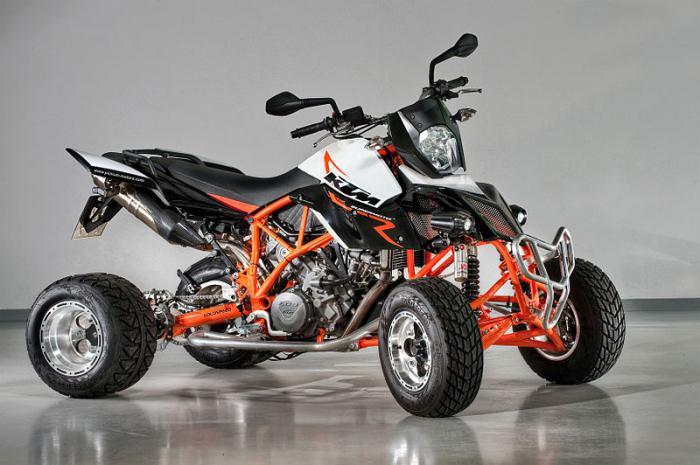 Самодельные вездеходы из мотоциклов