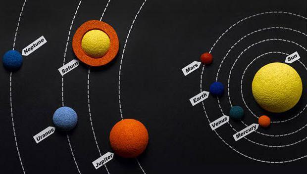 модели солнечной системы
