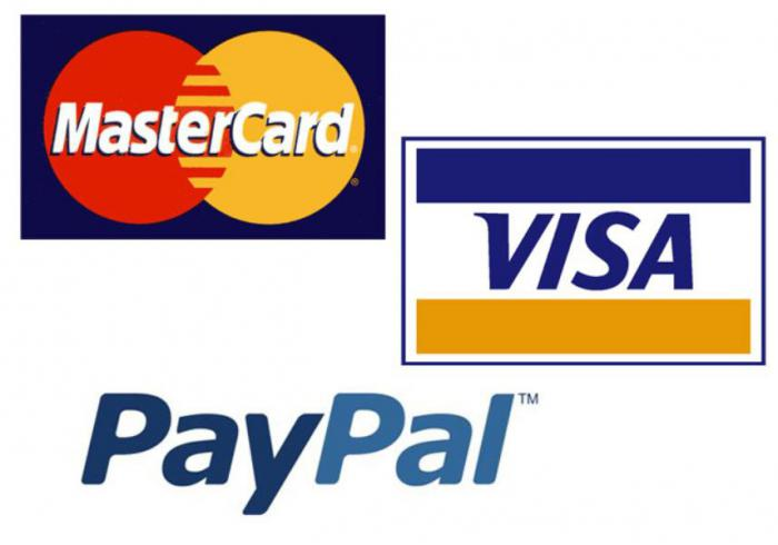 система visa и mastercard