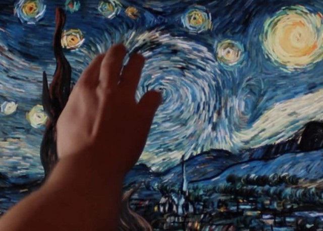 звездная ночь ван гог описание