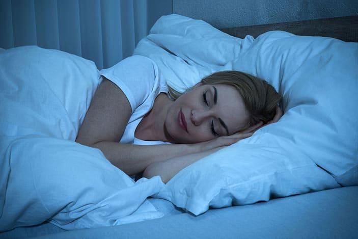 человек худеет во сне