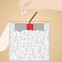 схема того как сделать граната из бумаги