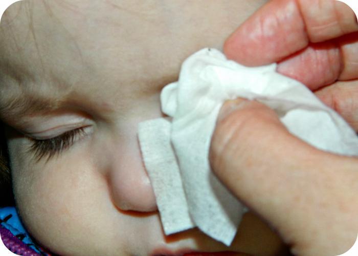 Как убрать соринку из глаза в домашних