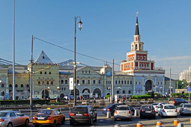 Казанский вокзал в российской