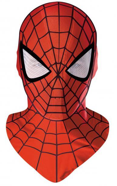 Человек-паук маска из бумаги