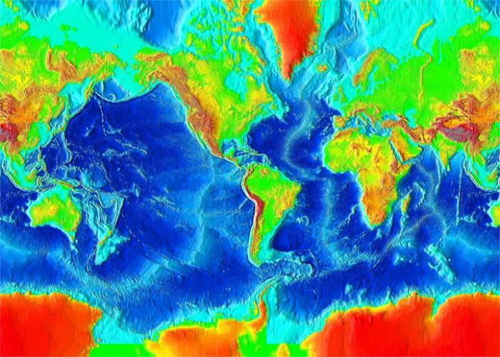 какая глубина у Тихого океана