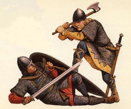 древнерусский воин фото