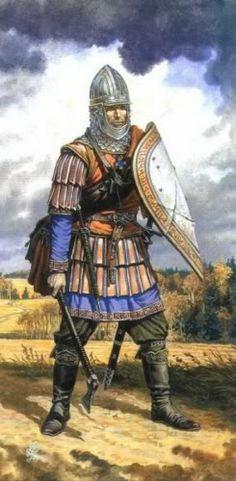 Оружие и доспехи древнерусских воинов