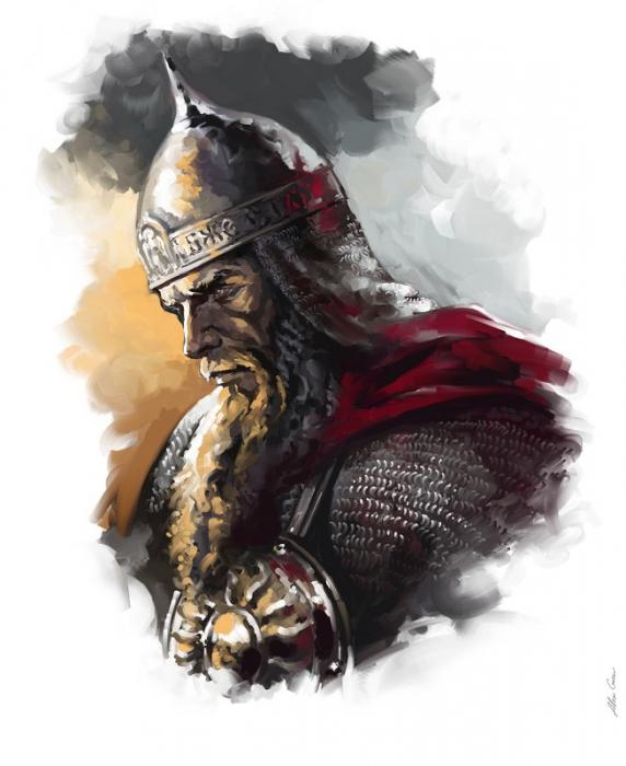 древнерусские воины