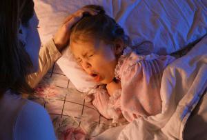 ребенок кашляет после сна