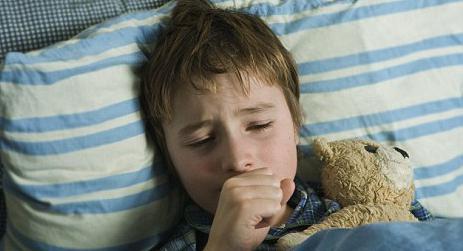 ребенок перед сном кашляет