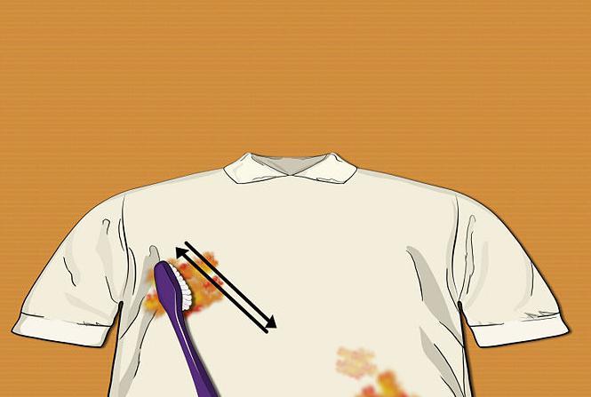 отстирать машинное масло с одежды
