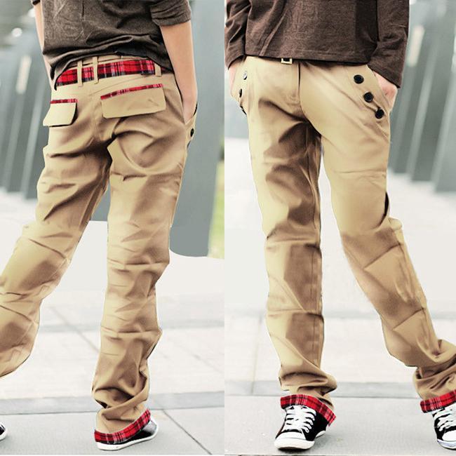 штаны с карманами по бокам мужские