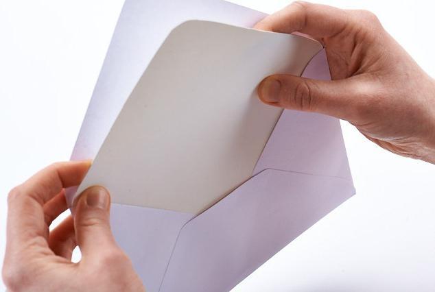 кк сделать конверт из листа а4 для письма своими руками